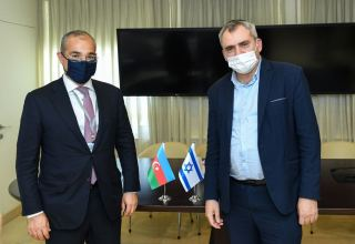 Database and co-op expanding to intensify work of Azerbaijani-Israeli commission - minister (PHOTO)