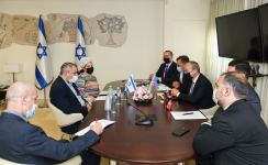 Database and co-op expanding to intensify work of Azerbaijani-Israeli commission - minister (PHOTO) - Gallery Thumbnail