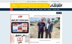 Egyptian journalists write articles after visit to liberated lands of Azerbaijan (PHOTO) - Gallery Thumbnail
