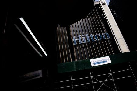 Hilton posts quarterly profit on recovery in leisure travel demand