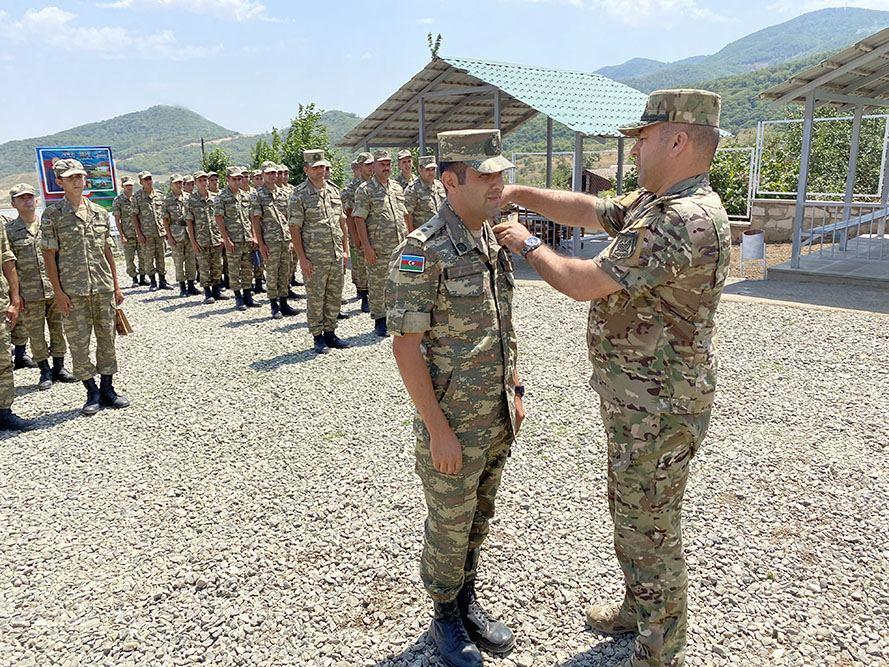 На территории Ходжалинского района состоялось открытие новой воинской части (ФОТО/ВИДЕО) - Gallery Image