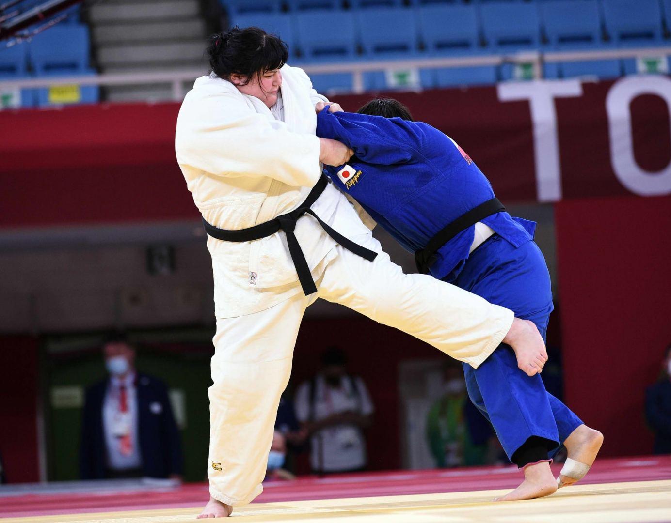 Лучший подарок на юбилей азербайджанской дзюдоистки на Олимпиаде в Токио (ФОТО) - Gallery Image