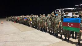 First group of Azerbaijani firefighting unit arrives in Turkey (PHOTO) - Gallery Thumbnail