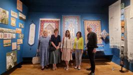 Два Юлиуса в Гулбене – об азербайджанских коврах рассказали в Латвии (ФОТО) - Gallery Thumbnail