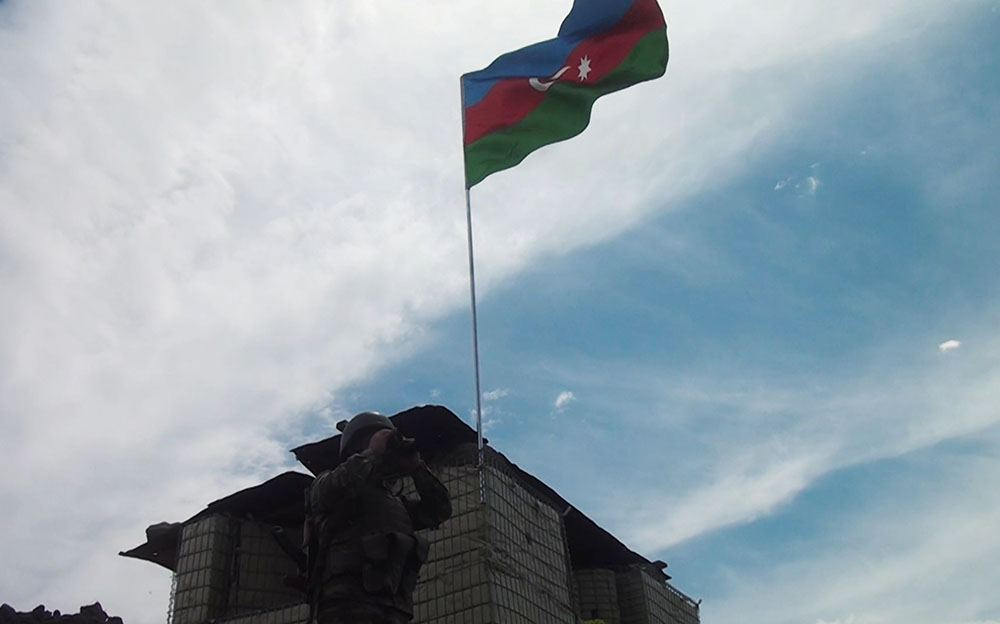 Боевое дежурство на освобожденных территориях Азербайджана ведется на высоком уровне (ФОТО/ВИДЕО) - Gallery Image