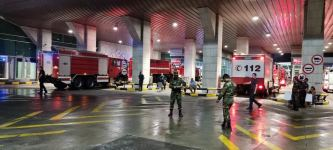 Another group of Azerbaijani firefighters arrive in Turkey to fight forest fires (PHOTO/VIDEO) - Gallery Thumbnail