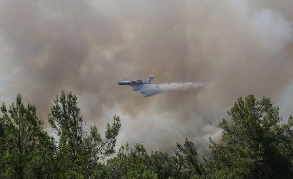 EU to send 3 firefighting planes to Turkey for wildfires