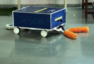 Covid-19 in India: Battery-operated robots help hospitals clean wards