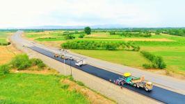 Gəncə-Qazax-Gürcüstan sərhədi yolunun 130 km-lik hissəsinin genişləndirilməsi gələn il yekunlaşacaq (FOTO) - Gallery Thumbnail