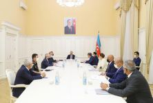 """Azerbaijani commission on """"Convention for Protection of Cultural Property in Event of Armed Conflict"""" holds first meeting (PHOTO) - Gallery Thumbnail"""