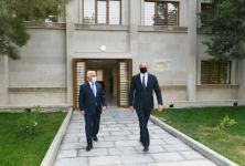 President Ilham Aliyev attends opening of newly renovated 500/330/220 kV Absheron substation (PHOTO) - Gallery Thumbnail
