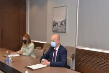 Azerbaijani FM meets with UNICEF's newly-appointed representative (PHOTO) - Gallery Thumbnail