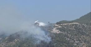 Azerbaijani firefighters continue to fight forest fires in Turkey (PHOTO/VIDEO) - Gallery Thumbnail