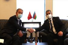 Azerbaijani defense minister meets with Turkish counterpart (PHOTO/VIDEO) - Gallery Thumbnail
