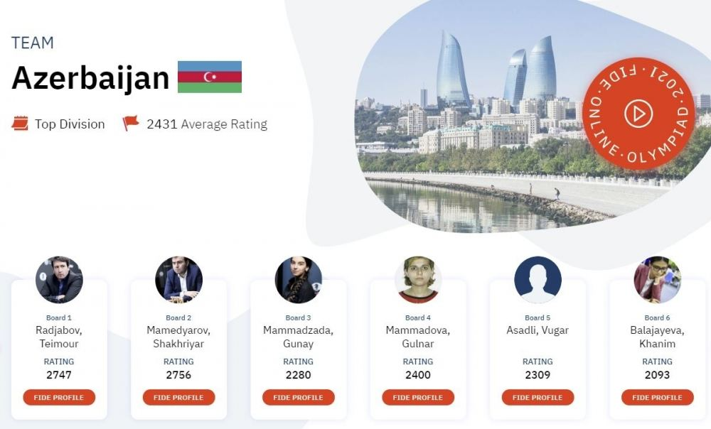 Azerbaijan names chess players to participate in World Chess Olympiad - Gallery Image