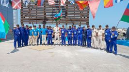 Azerbaijani team takes second place at first episode of 'Sea Cup' military contest (PHOTO/VIDEO) - Gallery Thumbnail