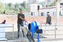 President Ilham Aliyev lays foundation stone for Hotel and Conference Center in Shusha (PHOTO) - Gallery Thumbnail