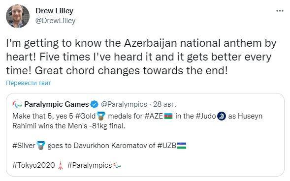 Австралийский комментатор из Токио: Я все лучше запоминаю наизусть гимн Азербайджана (ФОТО) - Gallery Image