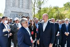 President Ilham Aliyev holds cordial conversation with participants and residents of Shusha as part of opening of Vagif Poetry Days (PHOTO) - Gallery Thumbnail