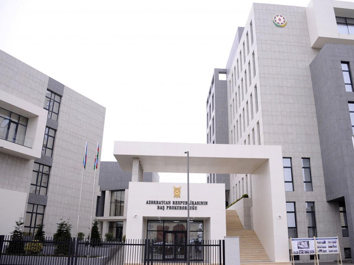 В Генпрокуратуру Азербайджана направлена информация о 266 лицах с фиктивной инвалидностью