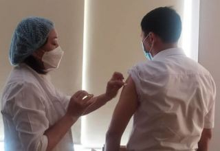 Almost 804 thsd doses of coronavirus vaccine administered in Kyrgyzstan