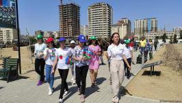 Yay məktəbində iştirak edən şəhid və qazi övladları Hərbi Qənimətlər Parkını ziyarət edib (FOTO) - Gallery Thumbnail