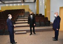Prezident İlham Əliyev Sumqayıt Məhkəmə Kompleksinin açılışını edib (FOTO/VİDEO) (YENİLƏNİB) - Gallery Thumbnail