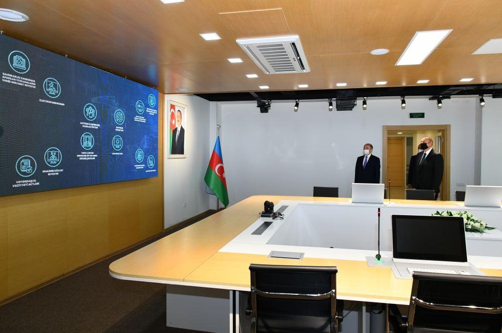 Prezident İlham Əliyev Sumqayıt Məhkəmə Kompleksinin açılışını edib (FOTO/VİDEO) (YENİLƏNİB) - Gallery Image