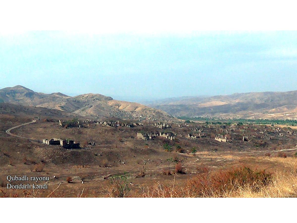 Qubadlının Dondarlı kəndi (VİDEO)