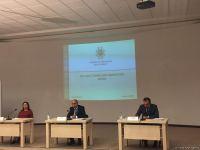 Минобразования Азербайджана провел брифинг по вопросу организации занятий в школах и вузах (ФОТО/ВИДЕО) - Gallery Thumbnail