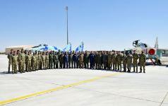 Военный атташе Азербайджана встретился с личным составом, участвующим в учениях «Сокол ТурАз – 2021» (ФОТО) - Gallery Thumbnail