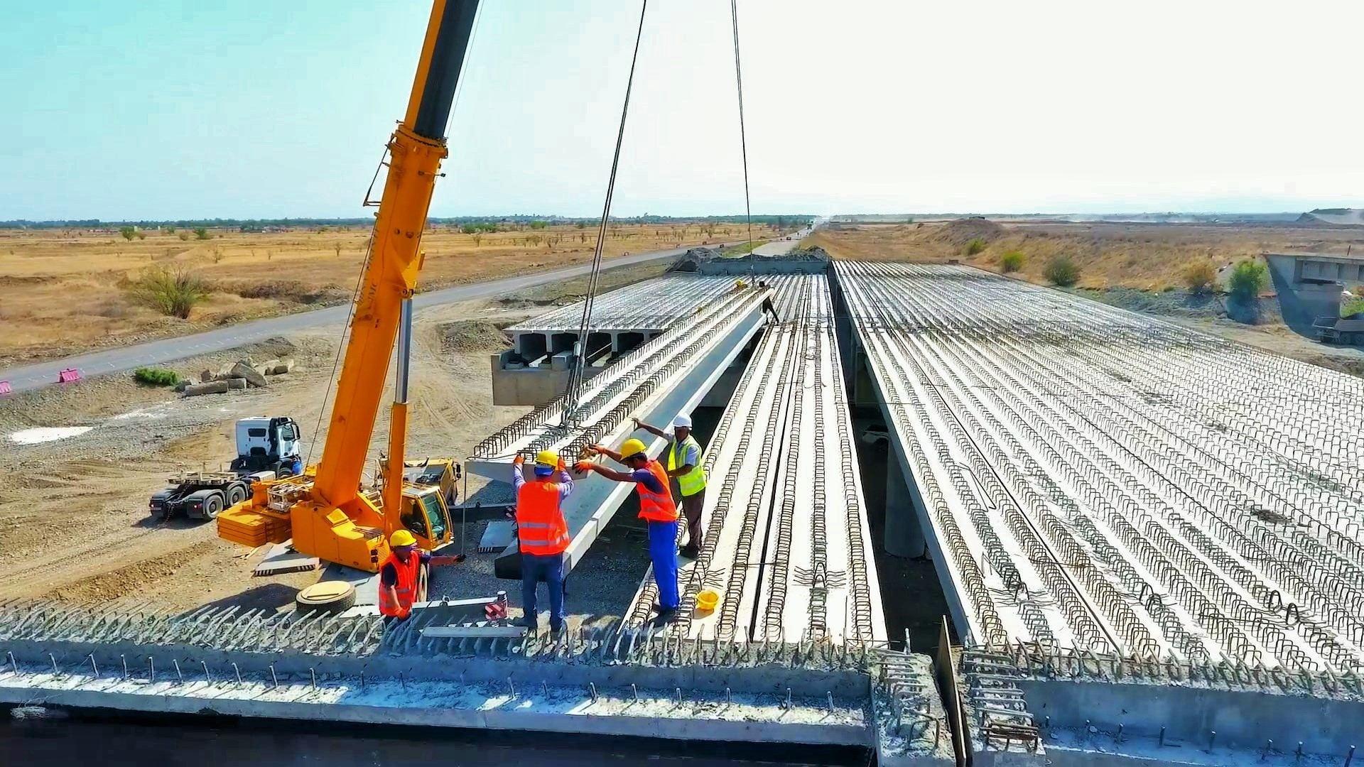 Продолжается строительство автодороги Барда-Агдам (ФОТО) - Gallery Image