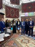 Azerkhalcha OJSC showcases its carpet products in Moscow for the first time (PHOTO/VIDEO) - Gallery Thumbnail