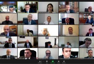 Рабочая группа по вопросам градостроительства на освобожденных землях Азербайджана провела заседание