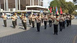 В азербайджанской армии прошли мероприятия, приуроченные к 103-й годовщине освобождения Баку от оккупации (ФОТО) - Gallery Thumbnail