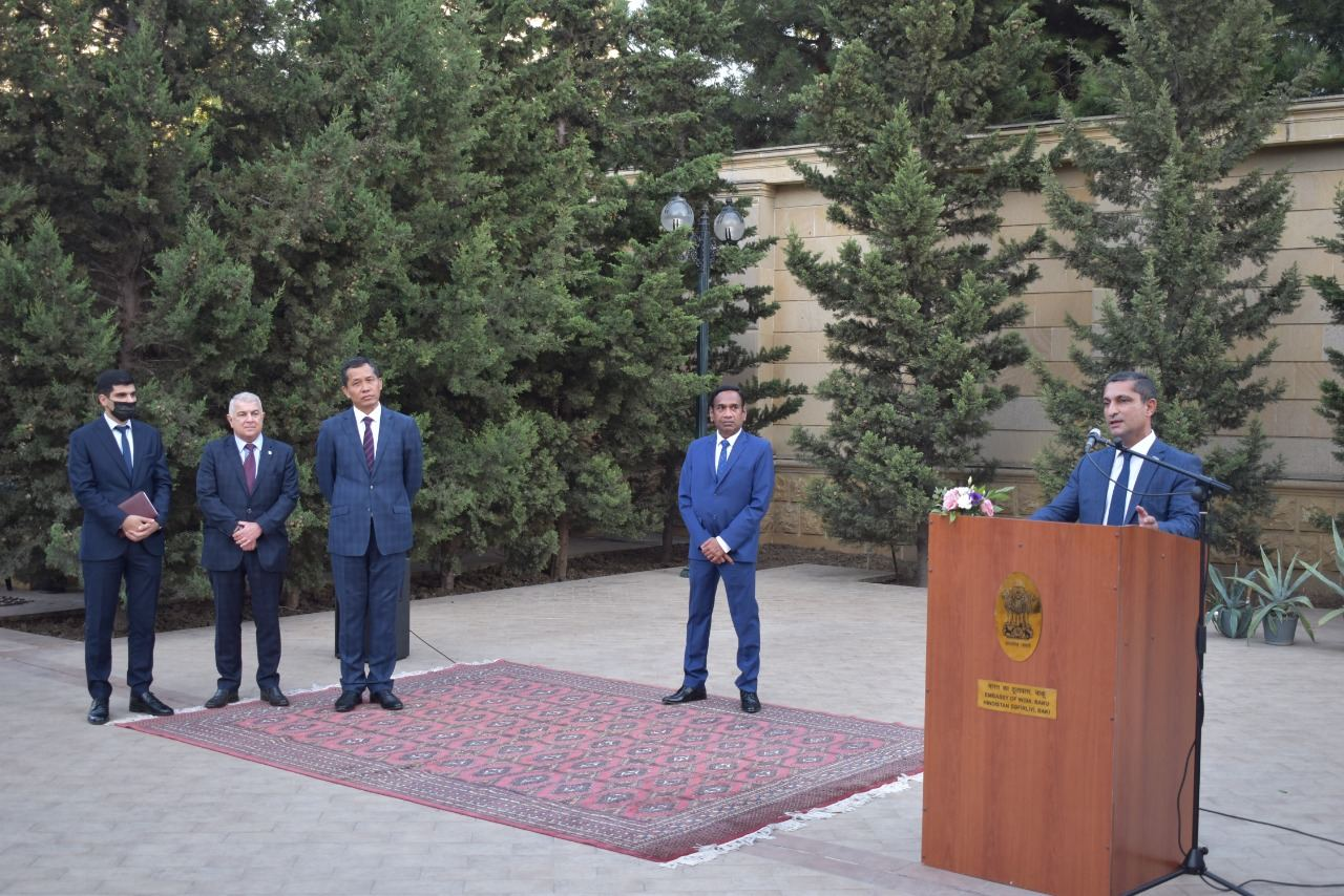 Indian Technical and Economic Cooperation Day 2021 celebrated in Azerbaijan (PHOTO) - Gallery Image