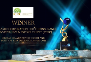 GIFA honors Islamic Corporation for the Insurance of Investment and Export Credit with 'Global Islamic Export Credit and Political Risk Insurance' Award 2021