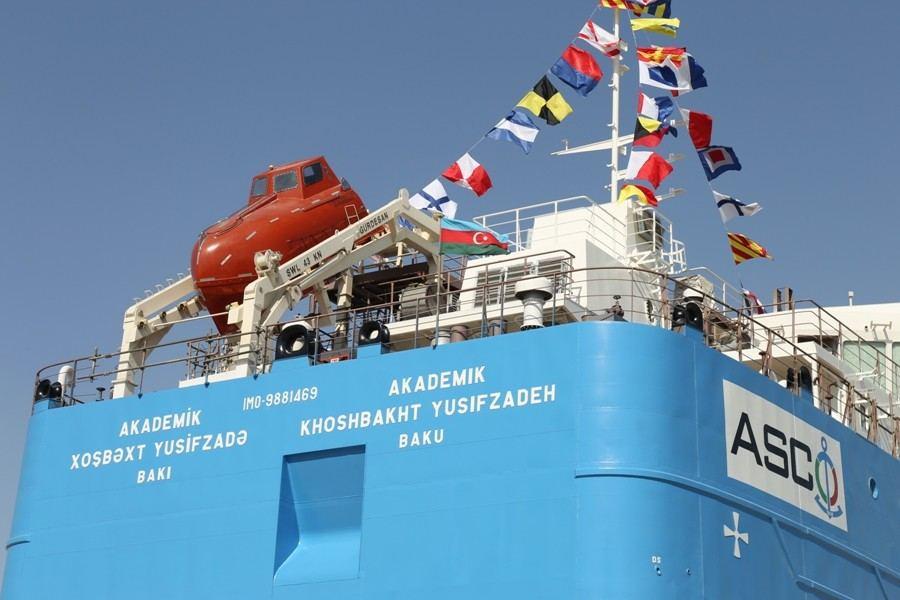 В Азербайджане спущен на воду новый нефтяной танкер (ФОТО) - Gallery Image