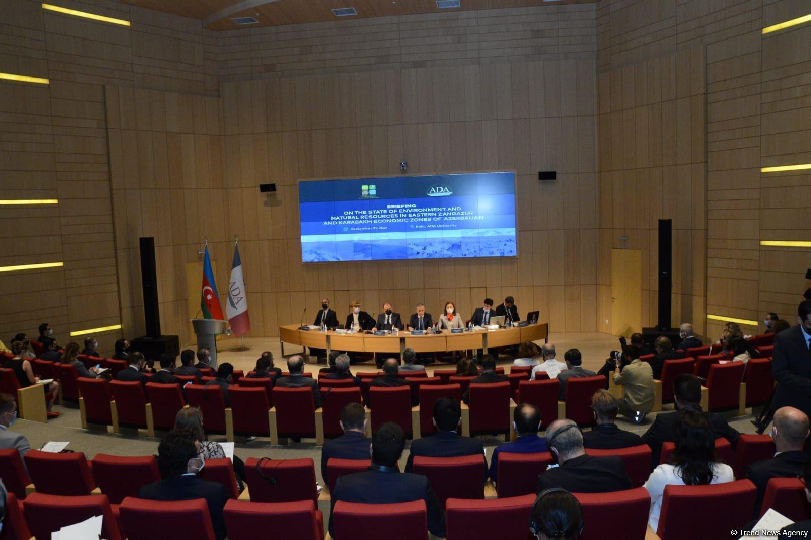 ETSN və ADA Universitetinin birgə təşkilatçılığı ilə brifinq keçirilib (FOTO) - Gallery Image