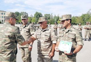 Azerbaijani servicemen wrap up another orienteering competition (PHOTO/VIDEO)