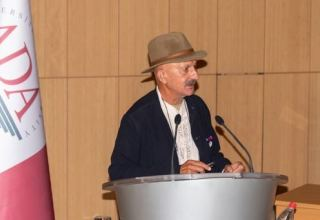 Reza Deghati's exhibition was organized as a part of briefing held at ADA University (PHOTO)