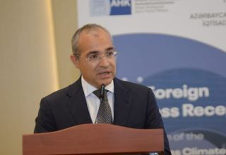 Azerbaijan's Minister of Economy talks recent business support applications (PHOTO)