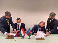 Azərbaycan və Macarıstan arasında saziş imzalanıb (FOTO) - Gallery Thumbnail