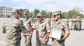 Azerbaijani servicemen wrap up another orienteering competition (PHOTO/VIDEO) - Gallery Thumbnail