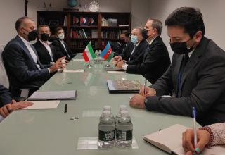 Azerbaijani, Iranian FMs discuss bilateral co-op at 76th session of UN General Assembly