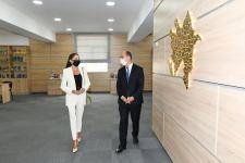 Первый вице-президент Мехрибан Алиева ознакомилась с условиями, созданными в новой школе номер 88 в бакинском поселке Бина (ФОТО/ВИДЕО) - Gallery Thumbnail