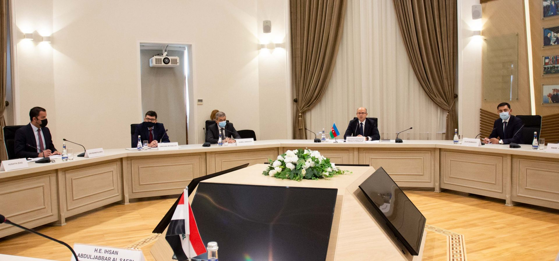 Iraq interested to co-op with Azerbaijan in oil, gas sectors (PHOTO) - Gallery Image