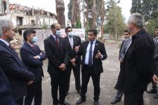OIC experts visiting Azerbaijan's Ganja to view consequences of Armenia's missile strikes (PHOTO) - Gallery Thumbnail