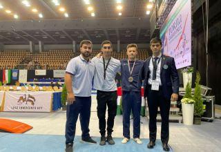 Азербайджанский гимнаст завоевал золотую медаль на Гран-при в Венгрии (ФОТО)