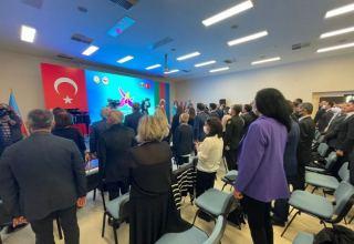 Ankarada Vətən müharibəsi şəhidləri yad edilib (FOTO)